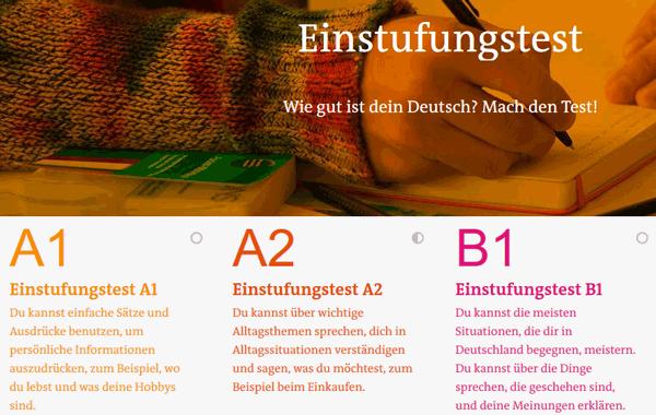 Einstufungstest der Deutschen Welle