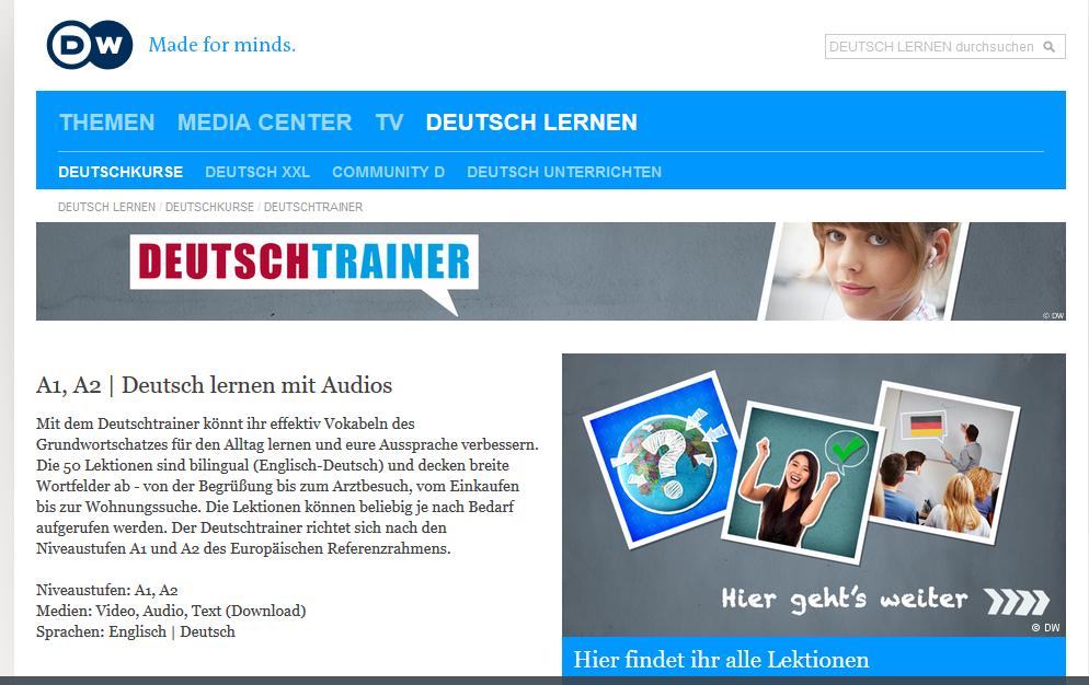 DW Deutschtrainer