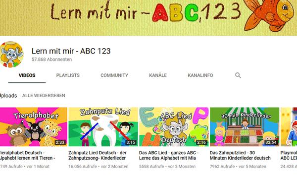 Deutsch lernen mit Musikvideos