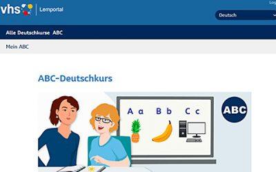 ABC-Deutschkurs des vhs-Lernportals