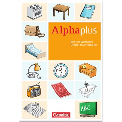 Alpha plus Bild- und Wortkarten