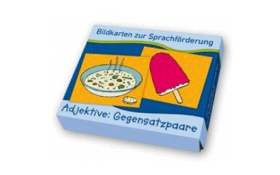 Bildkarten zur Sprachförderung: Adjektive – Gegensatzpaare
